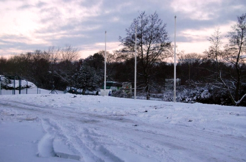 the 'ice-rink' pre car carnage